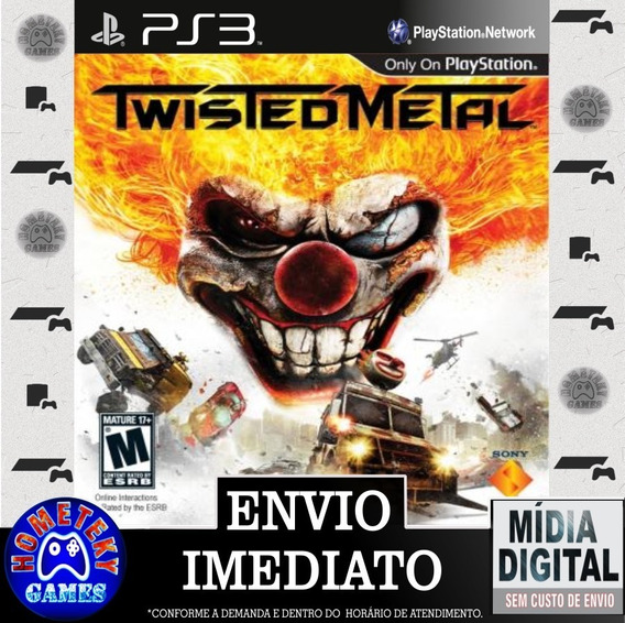 Twisted Metal - Psn Ps3 Play 3 Pronta Entrega