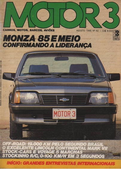 Motor 3 N°62 Monza Voyage Super Lincoln Continental Mark Vii
