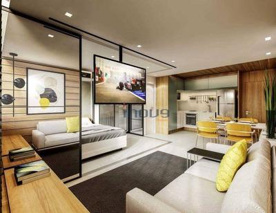 Apartamento Com 1 Dormitório À Venda, 37 M² Por R$ 329.000 - Aldeota - Fortaleza/ce - Ap0715