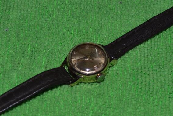 Relógio Mondaine Feminino Foleado A Ouro 18 K Dez Microns