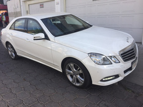 Mercedes Benz E 250 Cgi Avantgarde Blindado 2013
