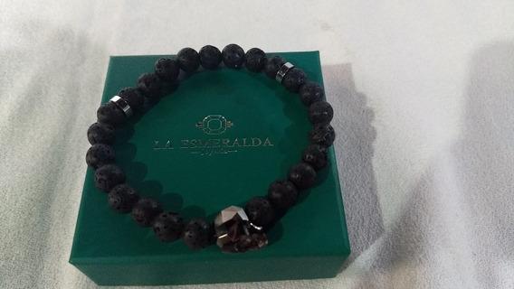 Pulsera Para Hombre De Calavera Joyeria La Esmeralda