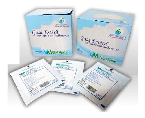 Gasa Esteril Antiadherente Caja X 40 Sobres