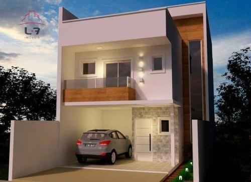 Sobrado Com 3 Dormitórios À Venda, 215 M² Por R$ 867.000,00 - Cidade Industrial - Curitiba/pr - So0101