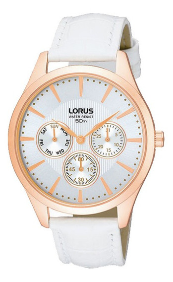 Reloj Lorus Rp694ax9 Para Dama Correa De Piel