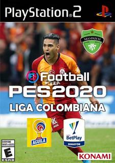 Pes 2020 Liga Colombiana Para Playstation 2 Por Usb