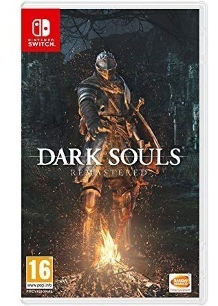 Dark Souls Remastered Switch Mídia Física Lacrado