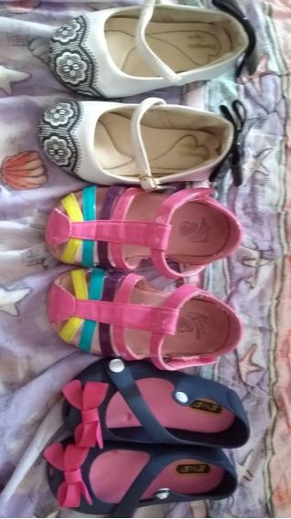Zapatos De Niñas Usados Y Nuevos