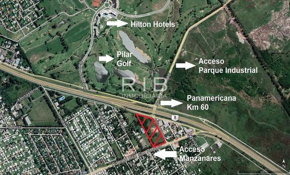 Fracción De 24.850 M2 - En Venta - Sobre Panamericana
