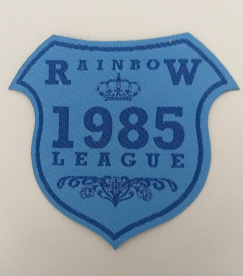 Patche Rainbow 1985 8x9cm Escudo Termocolante Etiqueta