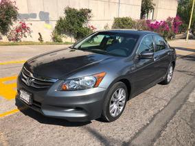 Honda Accord 2012 Ex Sedan L4 Piel Abs Cd Como Nuevo