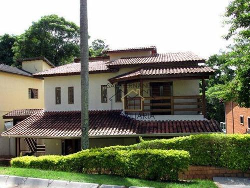 Imagem 1 de 30 de Casa Com 3 Dormitórios À Venda, 390 M² Por R$ 1.050.000,00 - São Fernando Residência - Barueri/sp - Ca0929