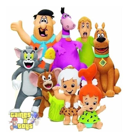 Coleção Hanna Barbera Mc Donalds Pelúcia Fred Tom Scooby Doo
