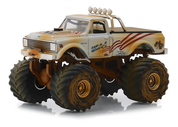 Greenlight Kings Of Crunch 1970 Chevrolet K-10 Usa 1 Legacy