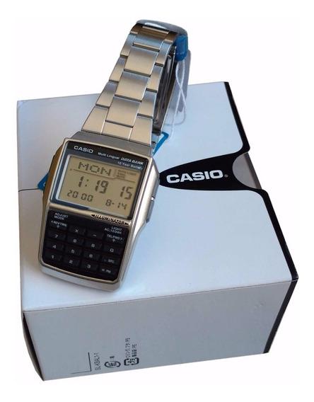 Relógio Casio Dbc32 Databank Calculadora Caixa Original Nf