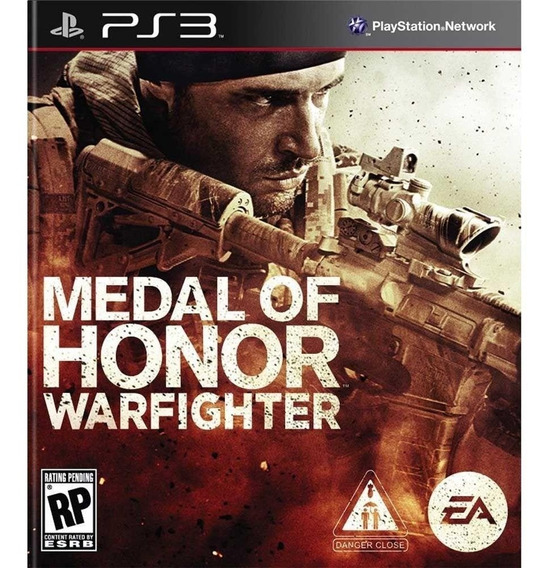 Medal Of Honor Warfighter - Jogos Ps3 Playstation 3