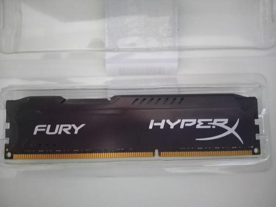 Memória Hyperx Fury, 8gb, 1866mhz, Ddr3, Preta