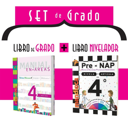 Manual En Áreas 4 Nación - Editorial Mandioca