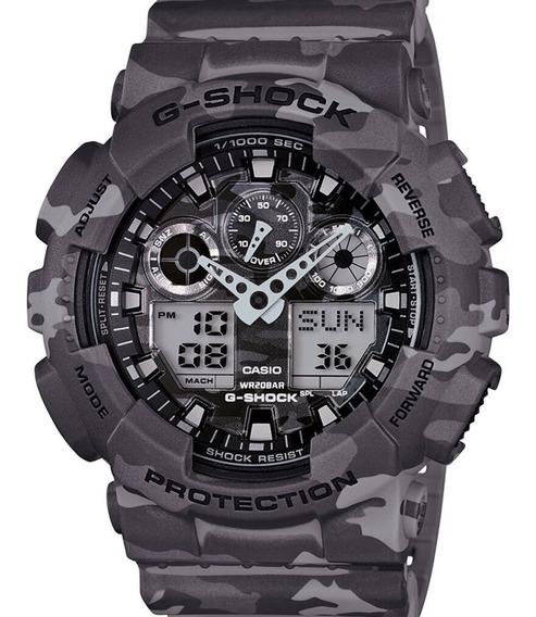 Relógio Casio Masculino G-shock Ga-100cm-8adr Nota Fiscal
