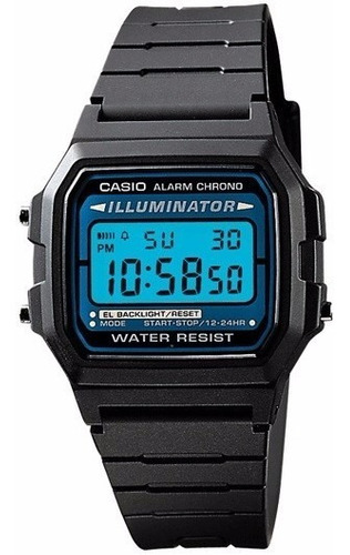 Imagen 1 de 4 de Reloj Casio F-105w Hombre Alarma Cronómetro Original Garanti