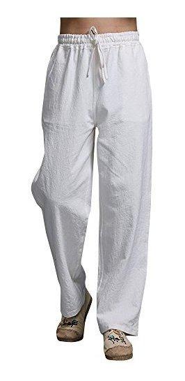 Pantalones Lino Hombre Playa Mercadolibre Com Mx