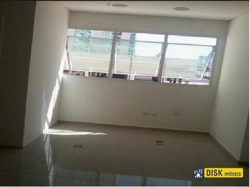 Sala À Venda, 38 M² Por R$ 220.000,00 - Centro - São Bernardo Do Campo/sp - Sa0104