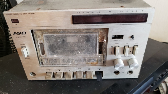 Tape Deck Aiko Td 3000. Para Retirar Peças
