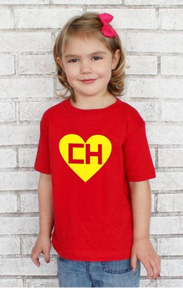 Camiseta Infantil Chapolin Colorado