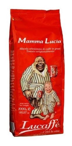 Café En Grano Entero Lucaffe Mamma Lucia 1kg Envío Gratis