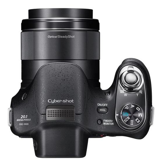 Camera Fotografica Sony Dsc H400 Usada