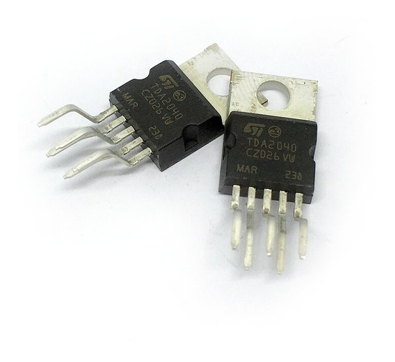 Circuito Integrado Tda 2040 A Tda2040 Tda2040a Amplificador