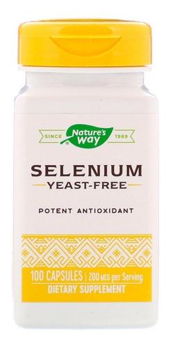Natures Way Selenio Antioxidante Po - Unidad A $690