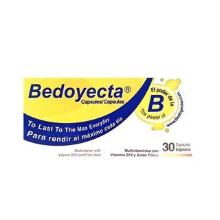 Bedoyecta Capsulas 30-ct 1,5 Oz