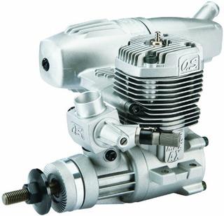 O.s. Motor 46ax Ii Abl Motor Con Silenciador E-3071 U S A