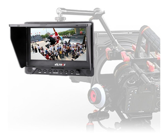Monitor De Referência Para Dslr/filmadoras Sdi Hdmi 7