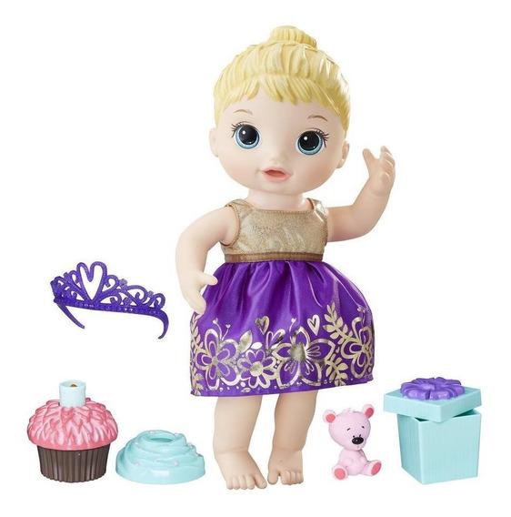 Boneca Baby Alive Festa Surpresa Loira Original Nf - Hasbro
