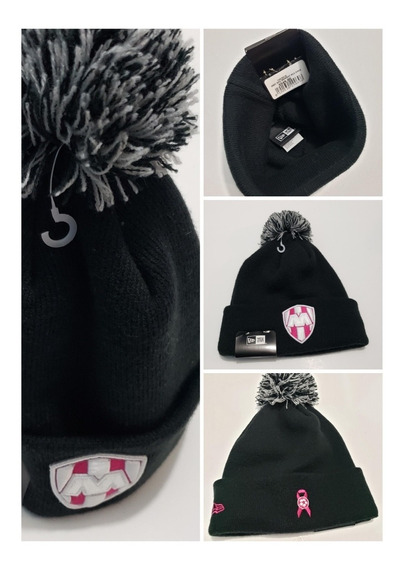 Gorro New Era Monterrey Women Beanie Rosa Original Liga Mx
