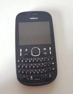 Celular Nokia Asha 200 Rm-761 Ref:cl03 P/retirar Peças