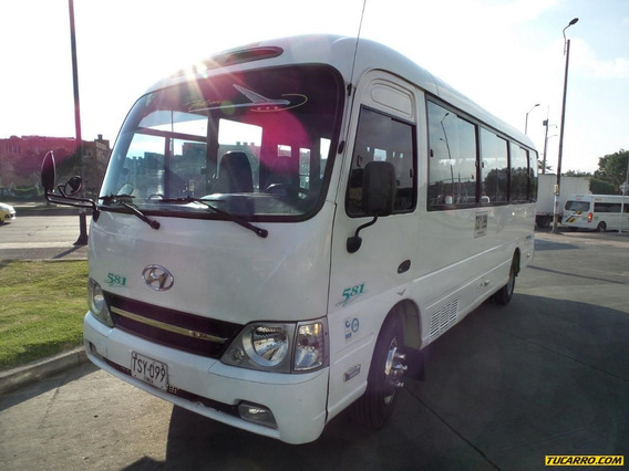 Autobuses Buseta Hyundai Country