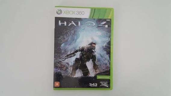 Jogo Halo 4 - Xbox 360 - Original - Usado - Mídia Física