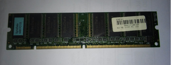 Memoria Ram Dimm 64 Mb Pc133 168 Pin
