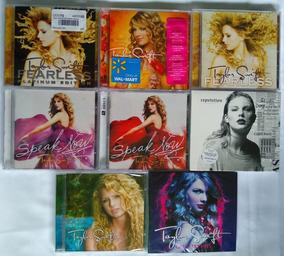 Kit Cds Taylor Swift - Nacionais E Importados - Lacrados