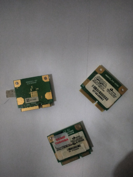 Placa Wifi Notebook (3 Unidades)