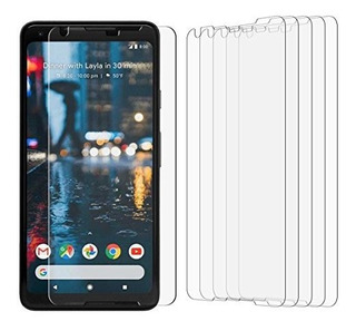 Paquete De 5 Tonvizern Para Google Pixel 2 Xl Definición Ult