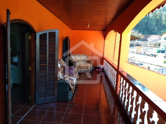 Casa Estilo Sobrado No Centro Da Cidade De Juquitiba - 334 - 34312433
