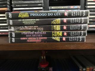 Os Cavaleiros Do Zodíaco 5 Filmes Original Dvd