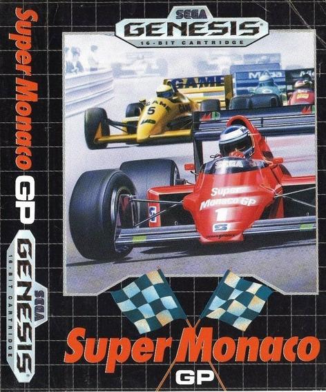 Super Monaco Gp Original Mega Drive Genesis Pronta Entrega