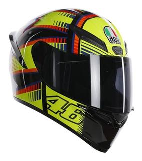 Agv K-1 Top Soleluna Vr46 Rider One