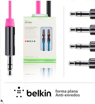 Cable Belkin 1 X 1 Auxiliar Original 0.9mts Hd