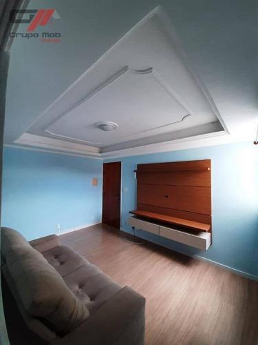 Apartamento Com 2 Dormitórios À Venda, 52 M² Por R$ 150.000 - Parque São Luís - Taubaté/sp - Ap0395
